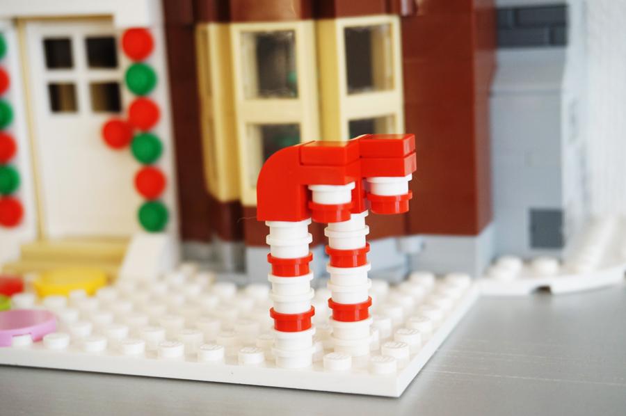 レゴお菓子の家ステッキキャンディー
