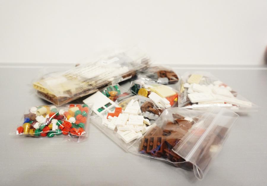 レゴお菓子の家のパーツ