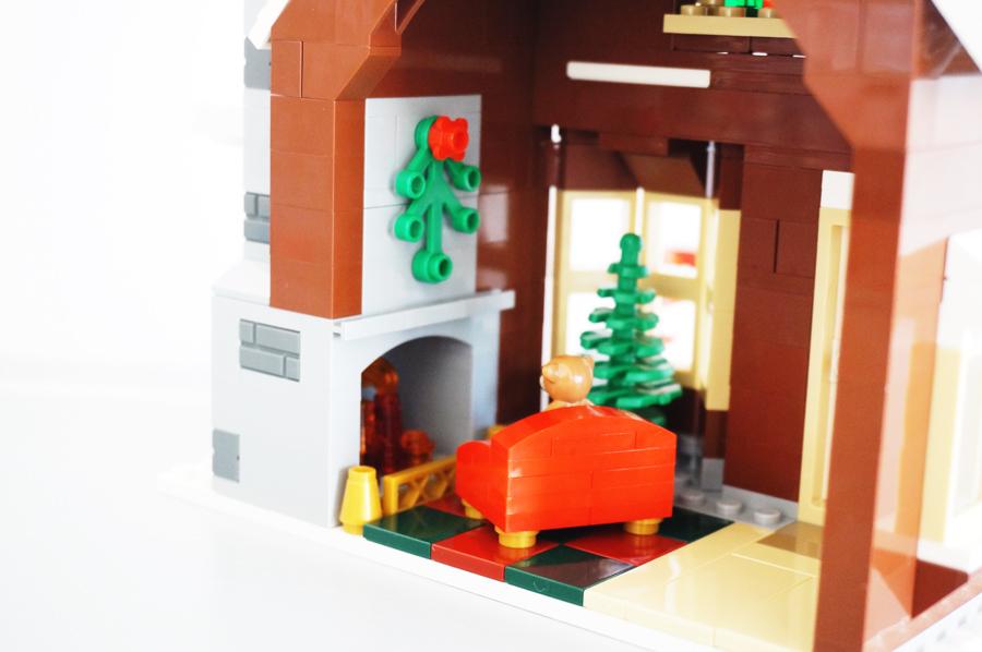 レゴお菓子の家の内装