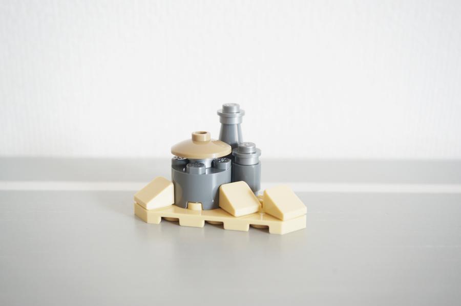 レゴのジャバの宮殿