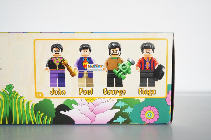 レゴ21306ビートルズ箱