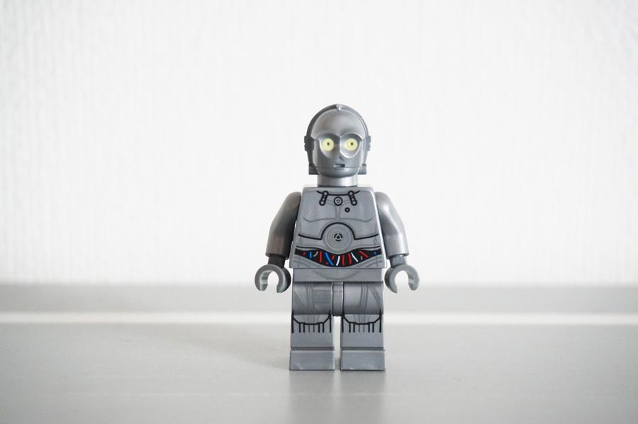 レゴ3PCOのミニフィグシルバー