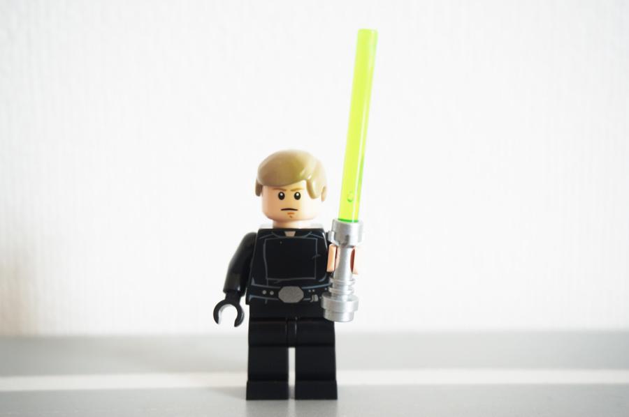 レゴのルークのミニフィグ