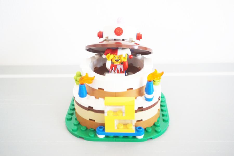 LEGO40153Birthday Decoration Cake Set