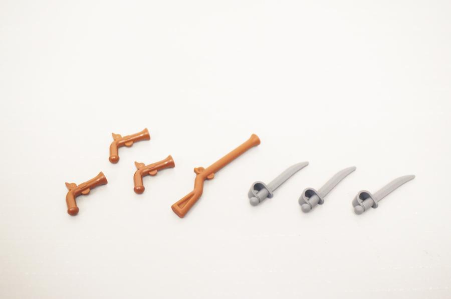 70409レゴパイレーツ海賊の砦の武器