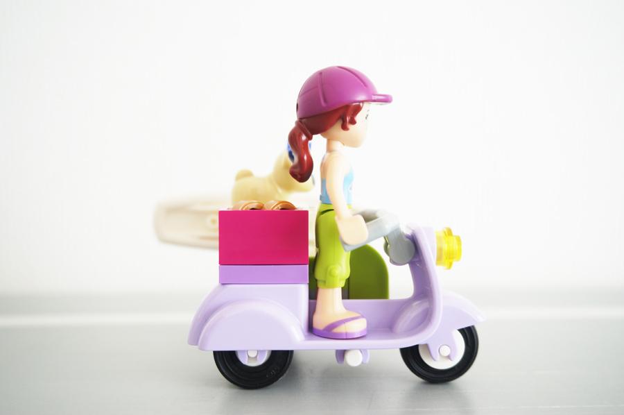 41306 レゴフレンズミアのサーフィンタイムのバイク