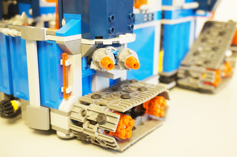 LEGO70317ネックスナイツのフォートレックスの大砲