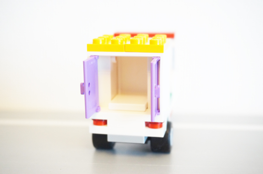 41311レゴのピザの宅配バイク