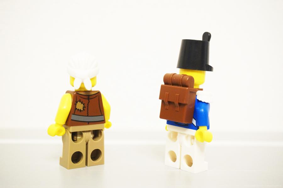 70409レゴパイレーツ海賊の砦のミニフィグ