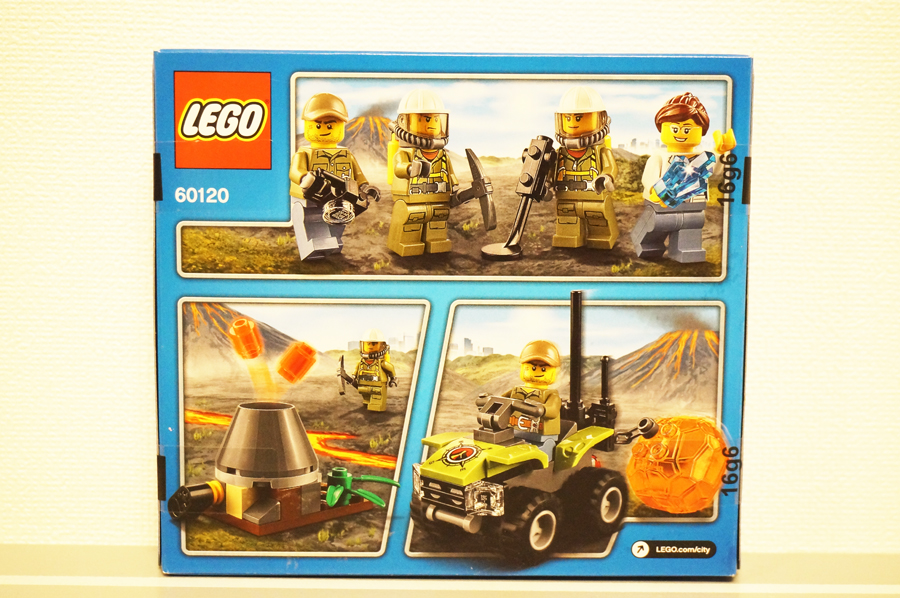 レゴシティ60120火山調査スタートセット