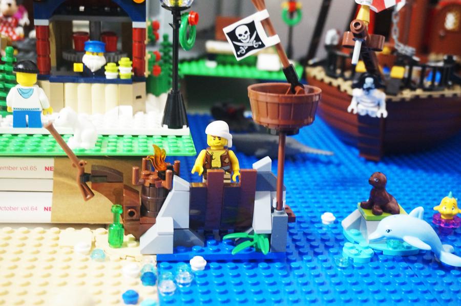 レゴシティの海海賊