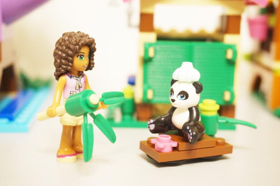 レゴフレンズパンダ