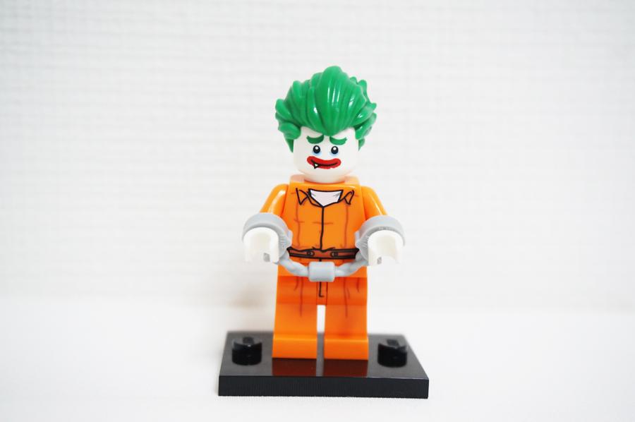 レゴバットマンジョーカーのミニフィグ