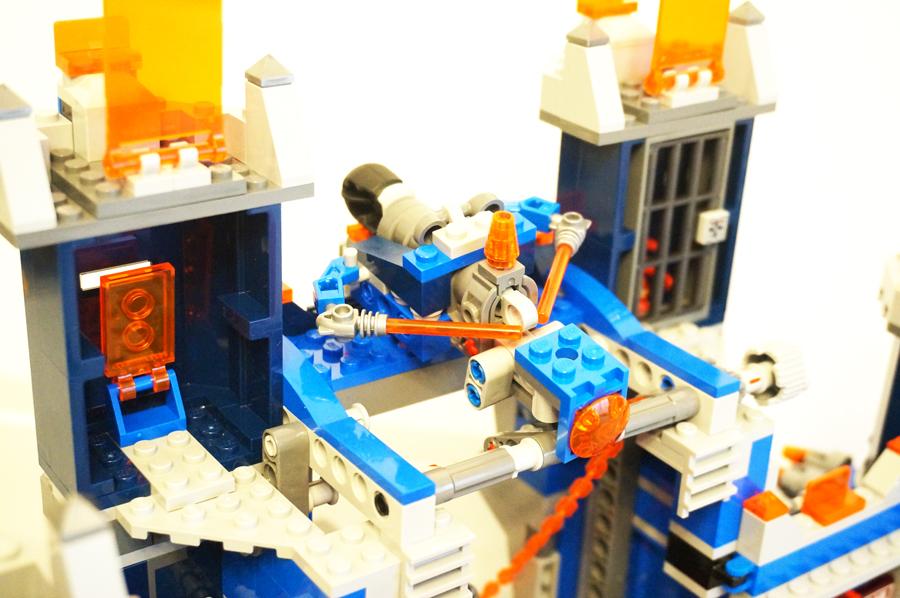 LEGO70317ネックスナイツのフォートレックスアーロンの乗り物