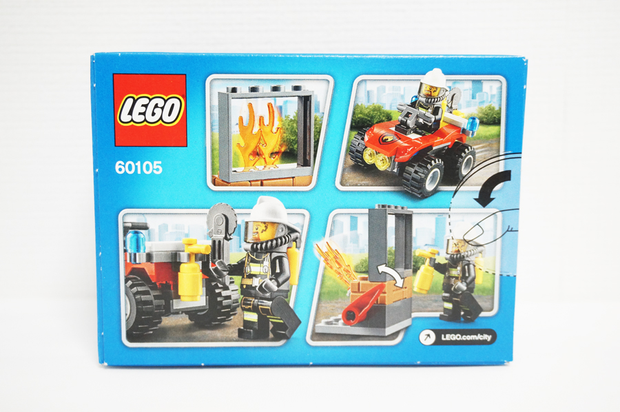 60105 レゴシティオフロード消防車