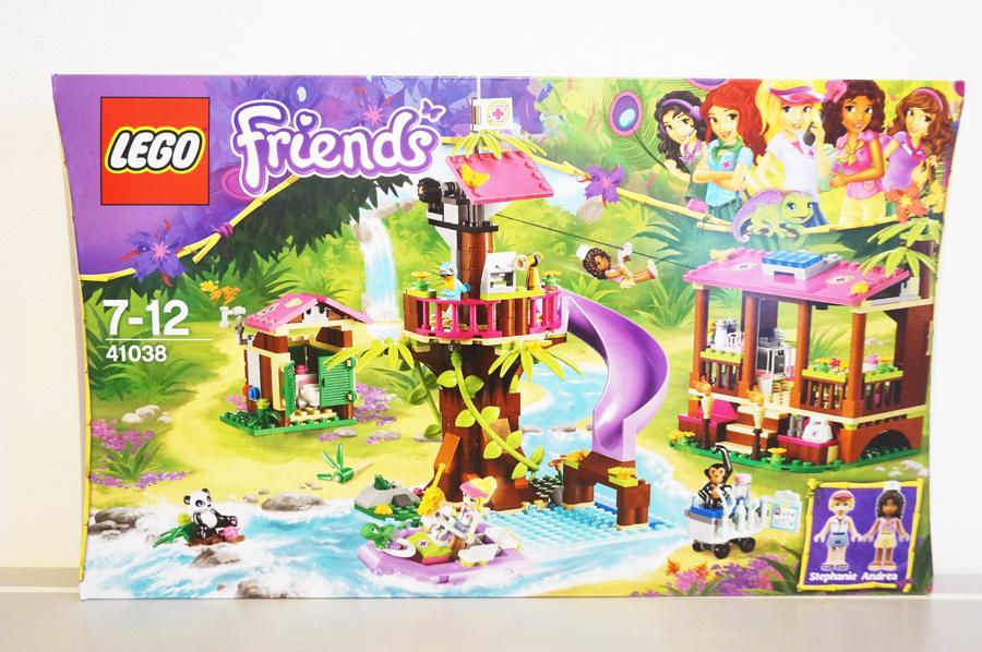 41038 レゴフレンズ ミステリージャングルパラダイス箱