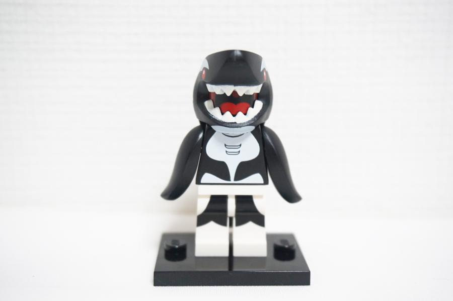 レゴバットマンミニフィギュアシリーズのサメ