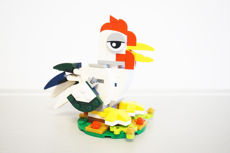 LEGO40234酉年ミニキットの悪い顏