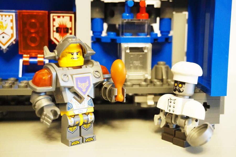 LEGO70317ネックスナイツのフォートレックスの冷蔵庫