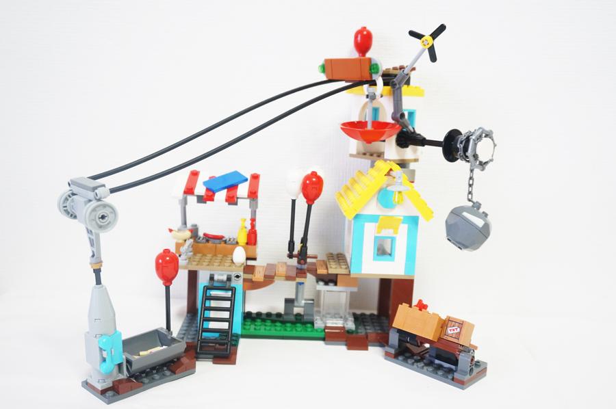 レゴ アングリーバード ピッグシティの解体 75824のミニフィグ