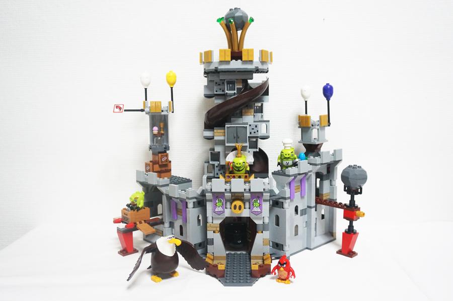 75826レゴアングリーバードブタの王様のお城