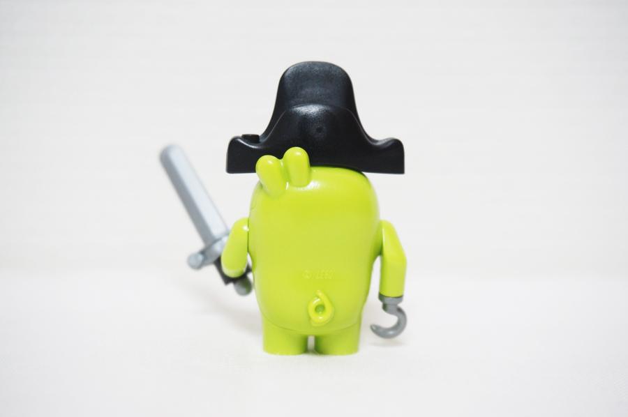 75825 レゴアングリーバード ピギーの海賊船豚の海賊のミニフィグ