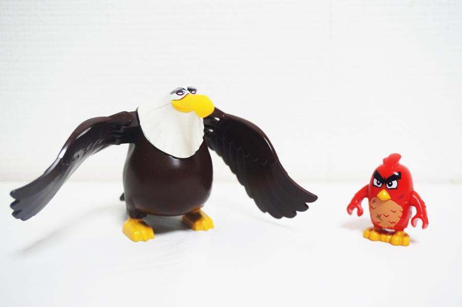 75826レゴアングリーバードブタの王様のお城鷲のキャラクターとレッド君