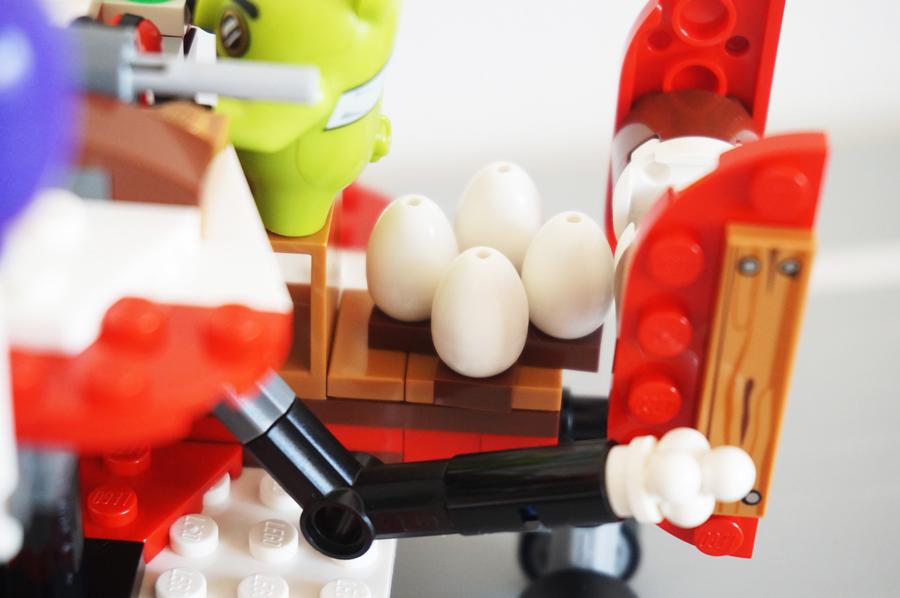 75822レゴアングリーバードピギーの飛行機攻撃卵パーツ