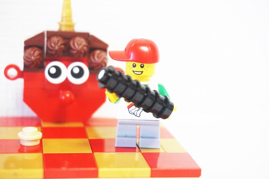レゴ節分の太巻き