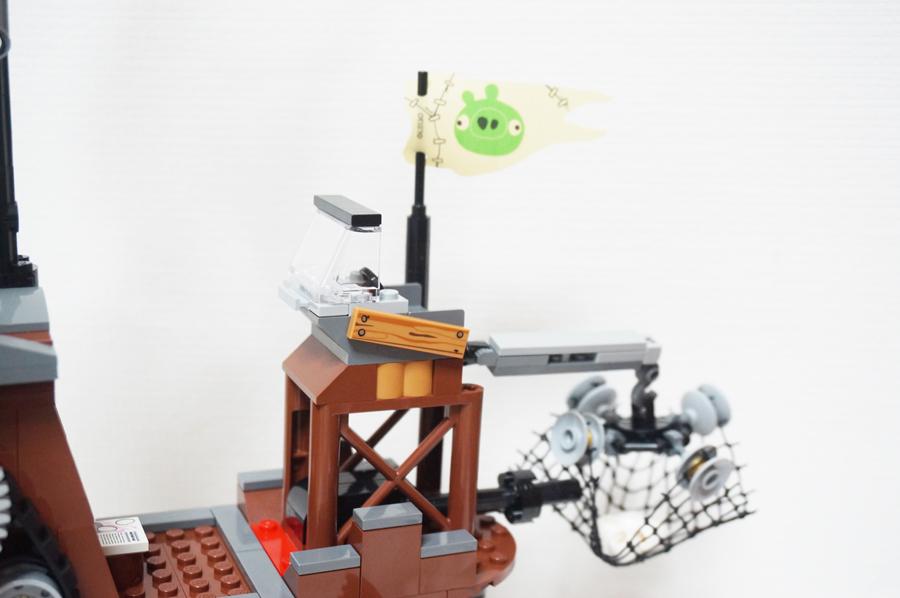 75825 レゴアングリーバード ピギーの海賊船