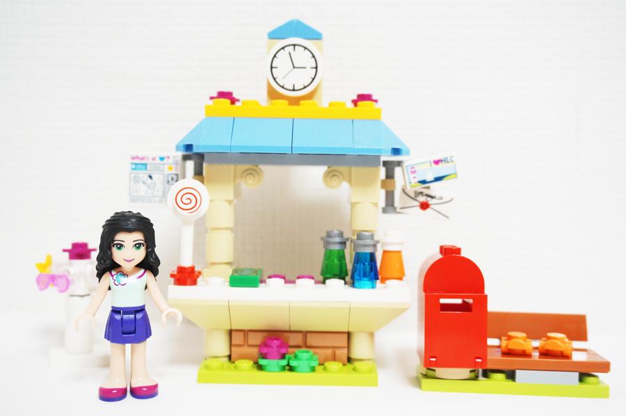 41098レゴフレンズエマのミニショップ Emma's Tourist Kiosk
