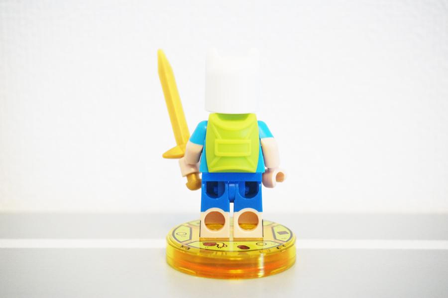 レゴディメンションズアドベンチャータイムのフィンのミニフィグ