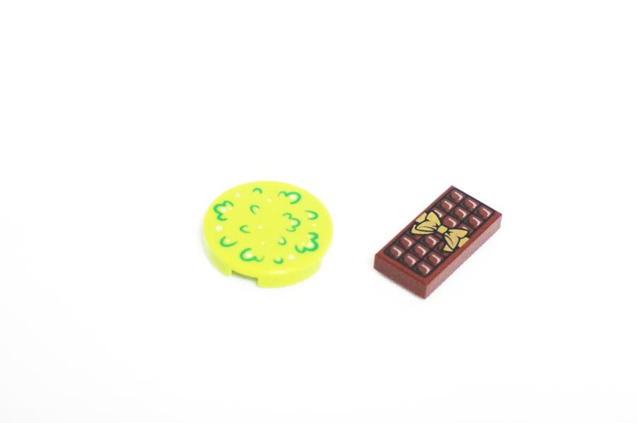 レゴのチョコレートパーツ