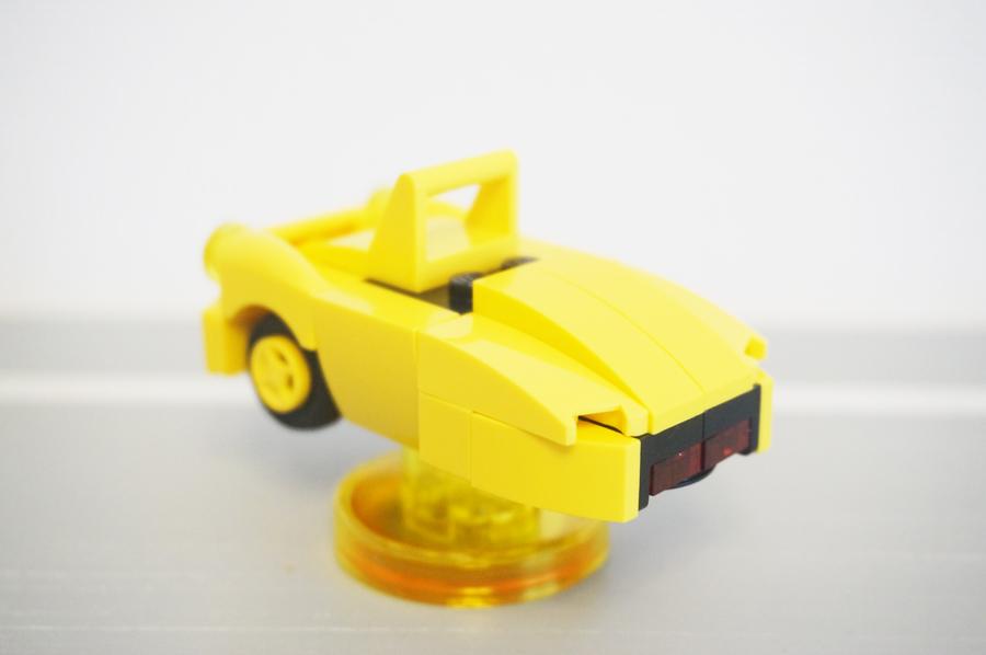 71245レゴディメンションズアドベンチャータイムジェイクの車