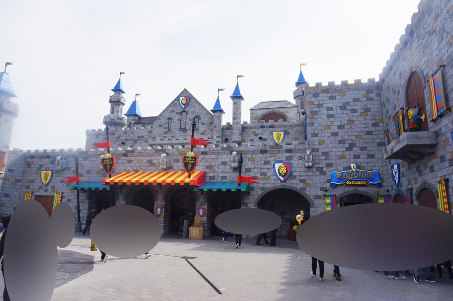 レゴランドジャパンのナイトキングダムエリア