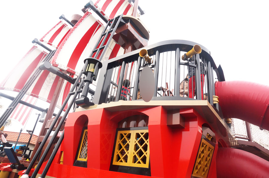 LEGOランドジャパンのパイレーツショアエリア