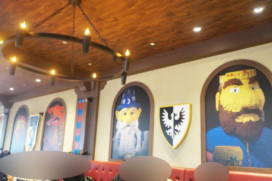 レゴランドのナイトキングダムレストラン