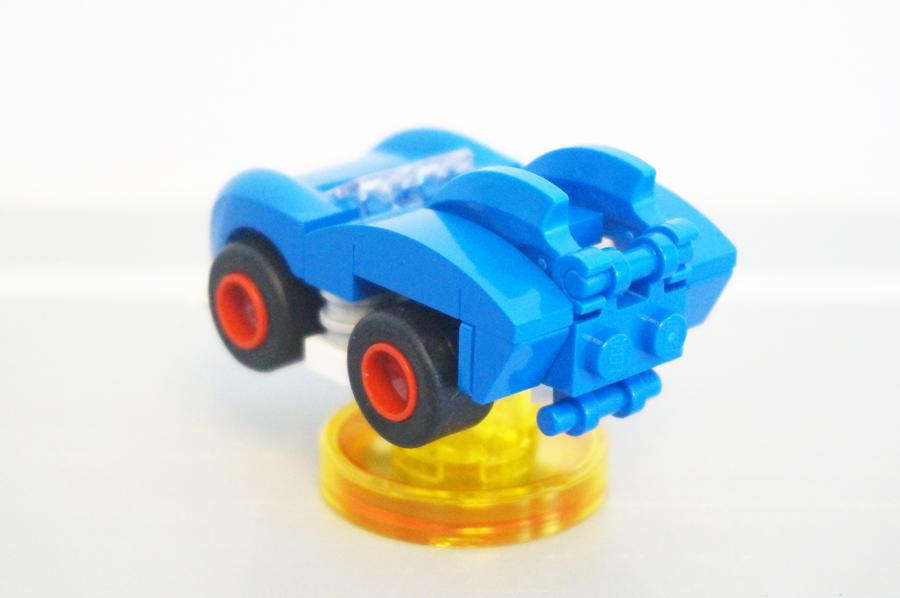 71244レゴディメンションズのソニック車