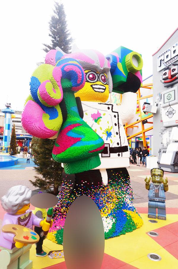 レゴランドジャパンのブリックトピアエリア