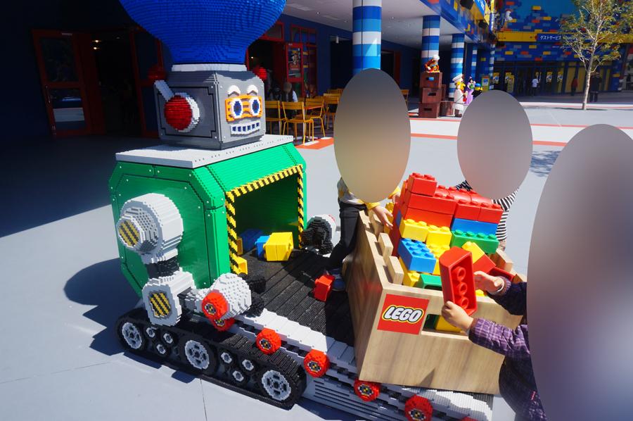 レゴランドジャパンの子供が遊べるスペース