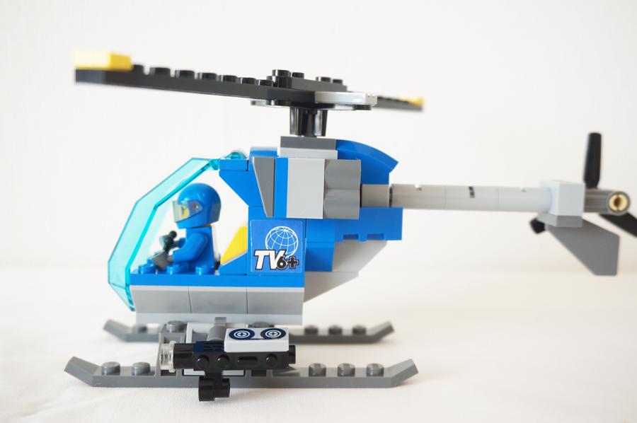 60097レゴシティのまちのヘリコプター