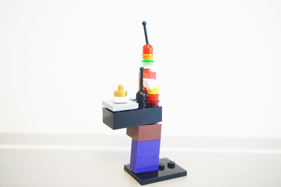 レゴ2歳半の作品ドラゴン