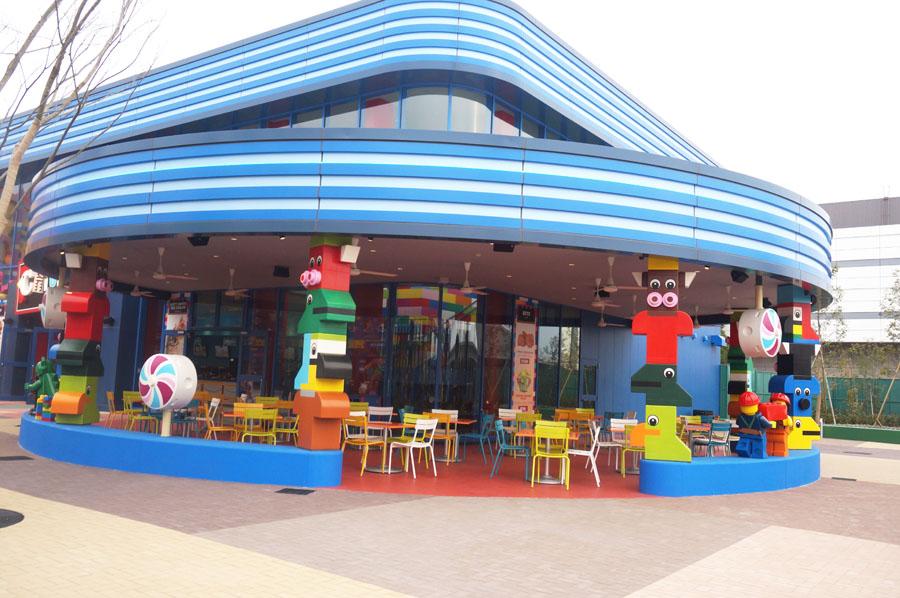レゴランドジャパンのブリックトピアエリアのレストラン