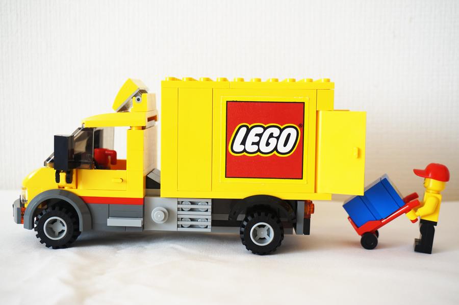 60097レゴシティのまち レゴストアのトラック
