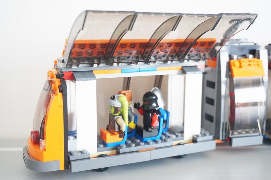 LEGOシティのまちのトラム