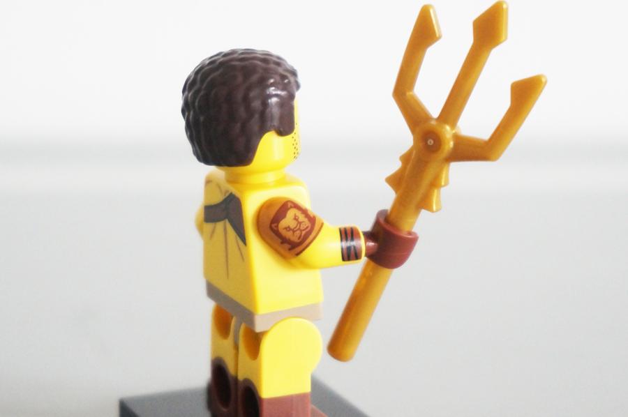 レゴミニフィギュアシリーズ17古代ローマの剣闘士