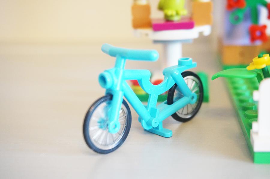 41095レゴフレンズエマのデザイナーズハウス自転車