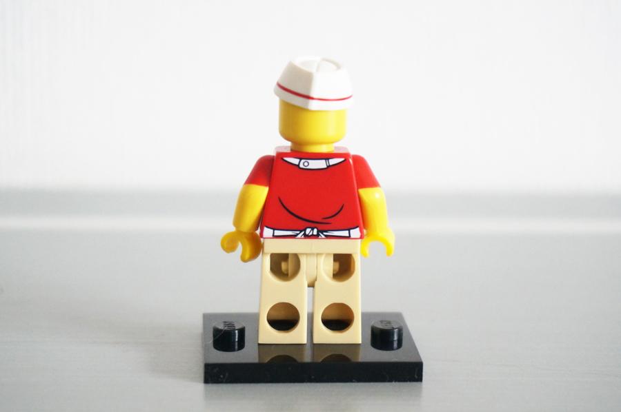 レゴミニフィギュアシリーズ17ソーセージマンレストランのスタッフ