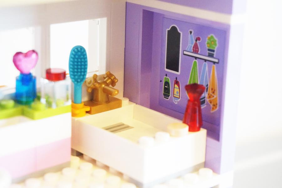 41095レゴフレンズエマのデザイナーズハウスバスルーム