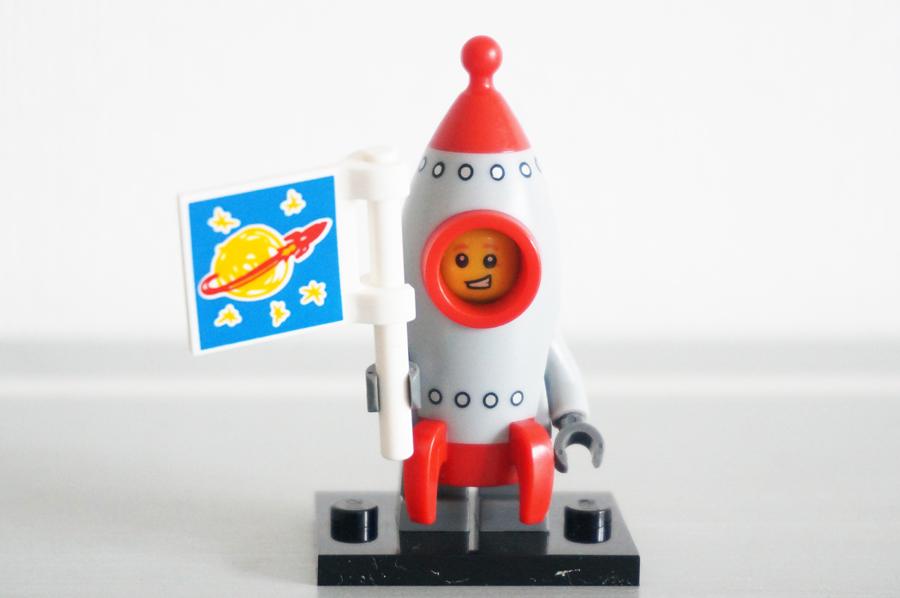 レゴミニフィギュアシリーズ17ロケットボーイ
